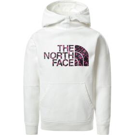 The North Face Drew Peak 2.0 Felpa con cappuccio P/O Ragazza, bianco